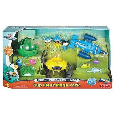 Half Price! Octonauts Gup Fleet Mega Pack £24.99 @ Argos
