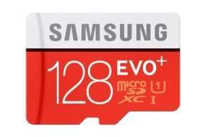 Samsung MB-MC128DA 128GB, microSDXC, Class 10, UHS-I @ TRANSPARENT £51.61 DELIVERED
