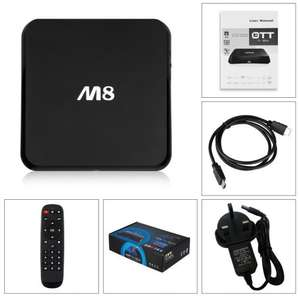 Android TV Player - Quad core - Droid Player M8 - cheapest ever! Kodi £37.99 @ WinoneUK Fulfilled by Amazon