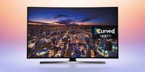 Samsung 48-inch curved 4K TV and Yamaha sound bar £1079 @ Bespoke/Crampton&Moore