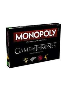 Game of Thrones Monopoly @ Winning Moves £26.99 (using code)