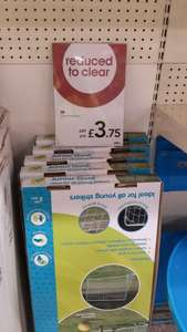 Metal football goal £3.75 was £20 @ Wilko in store