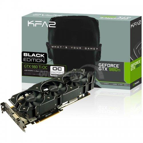 """KFA2 GeForce GTX 980Ti """"Infin8 Black Edition"""" 6144MB GDDR5 PCI-Express Graphics Card - £479.99 @ OCUK"""