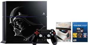 PS4 Star Wars Darth Vader Limited Edition Console &  Star Wars Battlefront Deluxe Edition + 14day PS+ 318.43 @ HMV.ie (using code)