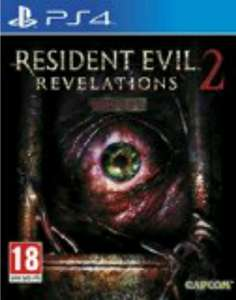 Resident Evil Revelations 2 PS4 £15 Tesco direct