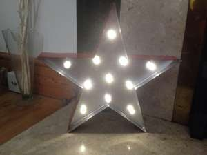 Marquee LED Light Star £7.99 @ Home Bargains