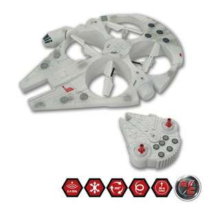 Star Wars Millennium Falcon Radio Control Flying Drone SMYTHS £99.99