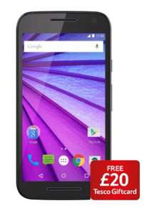 Motorola Moto G 3rd Generation (4G LTE, Quad core processor, 13 MP rear, 5 MP front camera) £139 @ Tesco + Free £20 Tesco Giftcard
