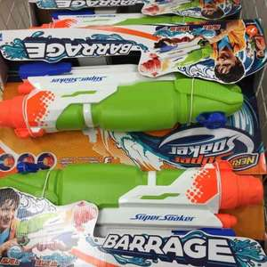 reduced to clear Super Soaker Barage Tesco Bidston - £5