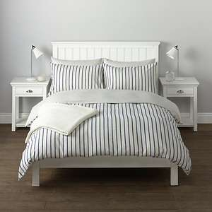 John Lewis Logan Pillowcase £5.00 instead of £10.00 (£3.50 Delivery or £2.00 Click & Collect)