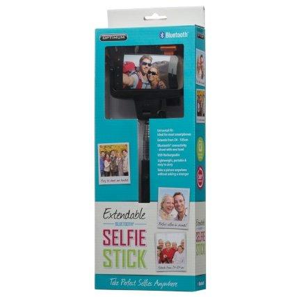 Extendable Bluetooth Selfie Stick b&m £5.99