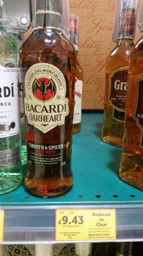 Barcardi Oakheart 70cl - £9.43 - Tesco