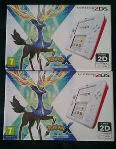 Nintendo 2DS + Pokemon x bundle - £59.99 @ Sainsburys