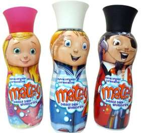 Matey bubblebath 500ml - Max/Molly/Peg leg £1 in Poundland.