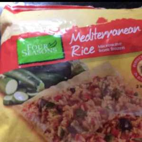 Aldi Mediterranean rice, 2 x 200g,microwave from frozen 69p @ Aldi
