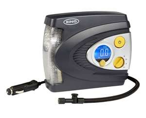 Ring Automotive RAC635 Preset Digital Air Compressor with LED Light, 12 V £25.00 @ Amazon