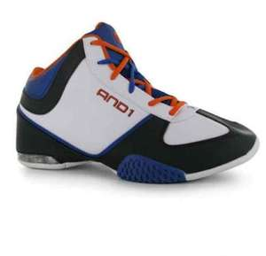 and1 kids basketball sneakers flash sale from 8pm tonight @ sportsdirect
