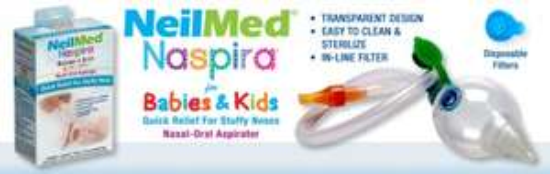 Free Sample of Neilmed Naspira For Babies/Toddlers' Stuffy/Runny Noses