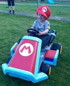 mario kart ride on only £69.96 @ toysrus