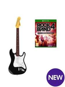 Rock Band 4 inc. Guitar, Xbox One £49.99 C&C or £3.95 delivered Isme