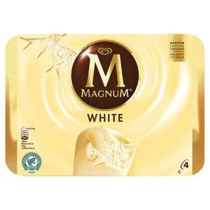 Magnum Ice Cream 4 X 110Ml just £1 with voucher @ Tesco/Asda instore