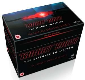 Knight Rider: The Ultimate Collection DVD Box set £20.00 with code @ Zoom