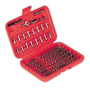Screwfix All-Purpose Screwdriver Bit Set 100Pc £2.94 - free store coll or £5 delivery!
