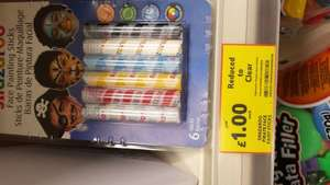 Snazaroo Pirate face paint sticks NOW £1.00 instore @ Tesco