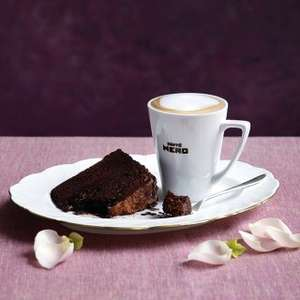 Cafe Nero - free coffee when you buy cake - O2 priority