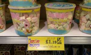 475g of Haribo Marshmallows for £1.19 in Home Bargains