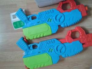 Tesco pump action water gun reduced to £1.50