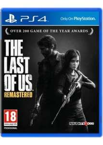 The Last of Us Remastered PS4 £18.49 @ Base