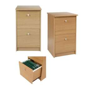Cheap 2 Drawer Filing Cabinet £8.75 collected or £11.75 delivered @ Tesco