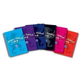 Oxford Campus Wirebound Notebook A5 £1.50 @ Asda