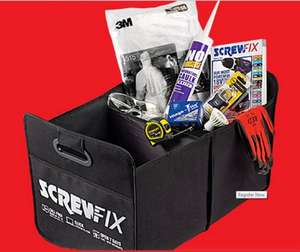 Free Van Tidy With The Latest  Mailed Catalogue [Worth £9.99] - Collect Free from Screwfix (Voucher Required)