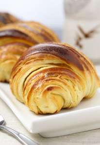 freshly baked croissants 5 for £1 @ lidl