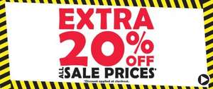 Extra 20% off ALL Sale prices + Free Next Day Delivery using code at Shoe Zone