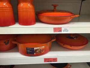 HALF PRICE - Cast Iron Collection at Sainsbury's