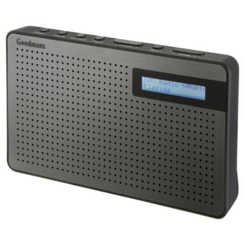 Goodmans Slate DAB radio (INSTORE only) £7.25 @ tesco