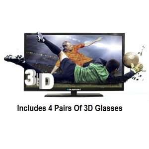 "Blaupunkt 46"" 3D full HD tv with 4 x 3d glasses £279.99 @ Big Pockets"
