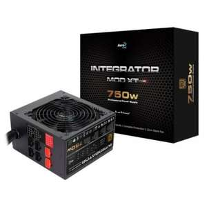 Aerocool Integrator MOD XT 750W Modular 80+ Bronze PSU on Amazon.co.uk for £53.68 shipped