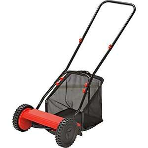 Sovereign Push Cylinder LawnMower - 30cm-Cheapest? £23.33 @ Homebase