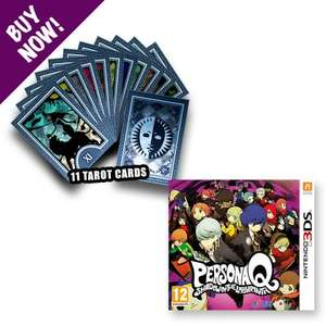 Persona Q (3DS) + 11 Tarot Cards - £24.48 @ NISA Europe Store