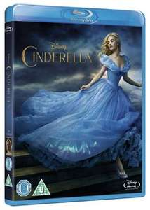 NEW Cinderella (2015) on Disney Movie Rewards