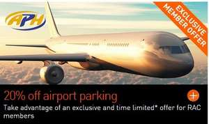 Upto 25% off Airport Parking With RAC