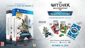 Ps4 (£19.99) and pc (£14.99) the witcher 3 expansion collectors edition with Gwent Cards! @ Game