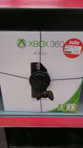 Xbox 360 4gb £98 Asda Instore (Accrington)