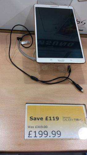 Samsung Galaxy Tab S £199 @ Smyths - Hull