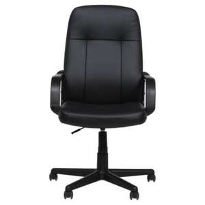 Riley Office Chair, Black, £24 @ Tesco Direct
