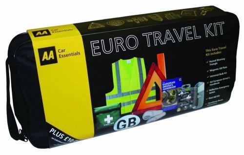 AA 7-Piece Euro Travel Kit £6.99 @ B&M